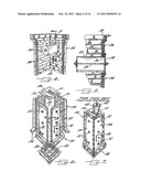 Simulated Stone or Brick Column and Method of Fabricating Same diagram and image