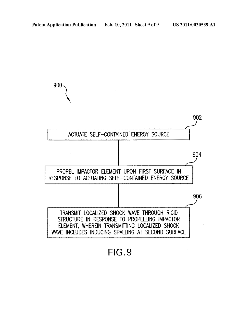 Device and Method for Controlled Breaching of Reinforced Concrete - diagram, schematic, and image 10