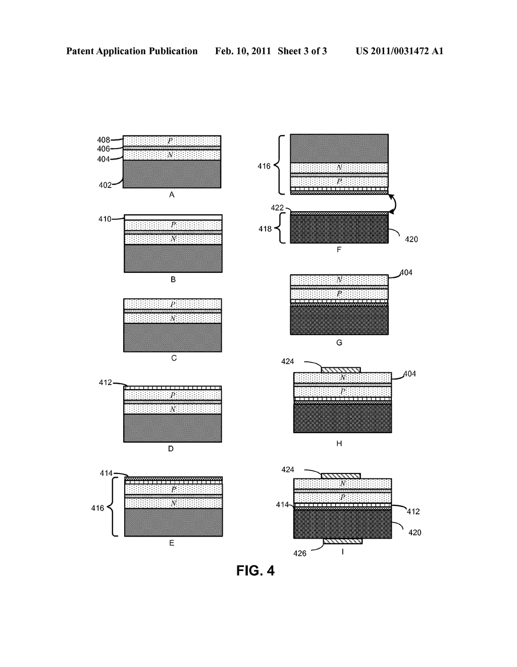 SEMICONDUCTOR LIGHT-EMITTING DEVICE WITH A HIGHLY REFLECTIVE OHMIC-ELECTRODE - diagram, schematic, and image 04