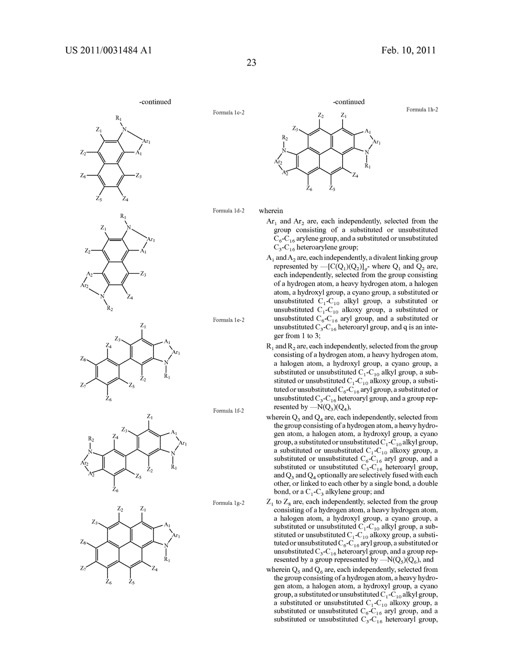 CONDENSED-CYCLIC COMPOUND AND ORGANIC LIGHT EMITTING DIODE HAVING ORGANIC LAYER INCLUDING THE SAME - diagram, schematic, and image 25