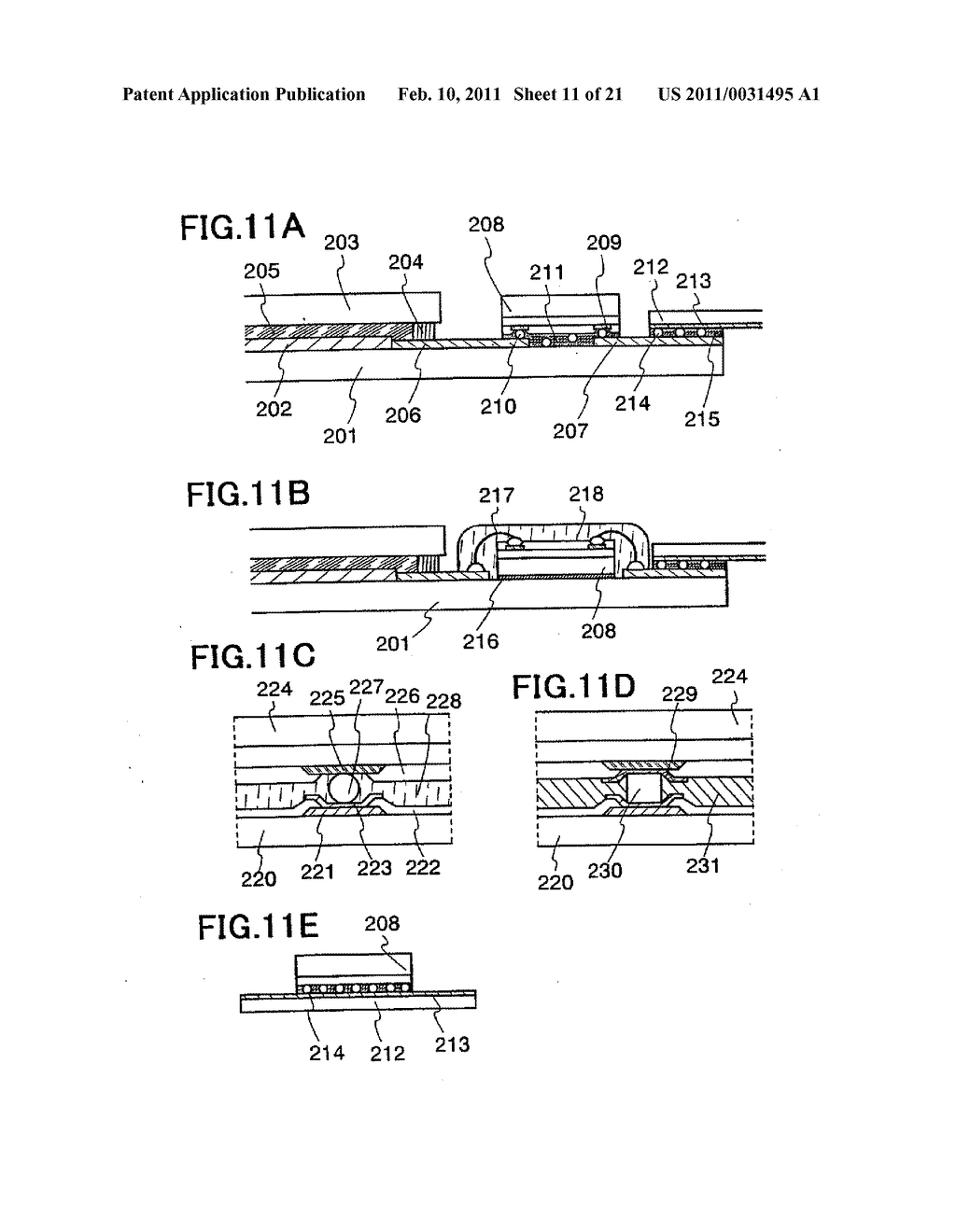 Liquid Crystal Display Device, Electronic Device Having the Same, and Manufacturing Method of the Same - diagram, schematic, and image 12