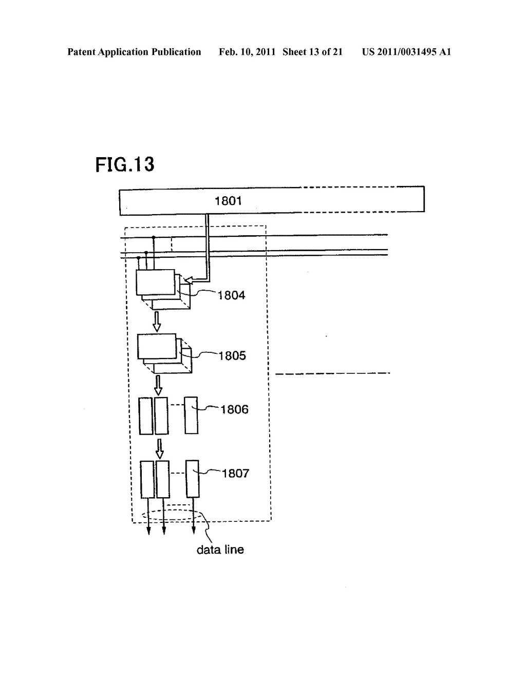 Liquid Crystal Display Device, Electronic Device Having the Same, and Manufacturing Method of the Same - diagram, schematic, and image 14