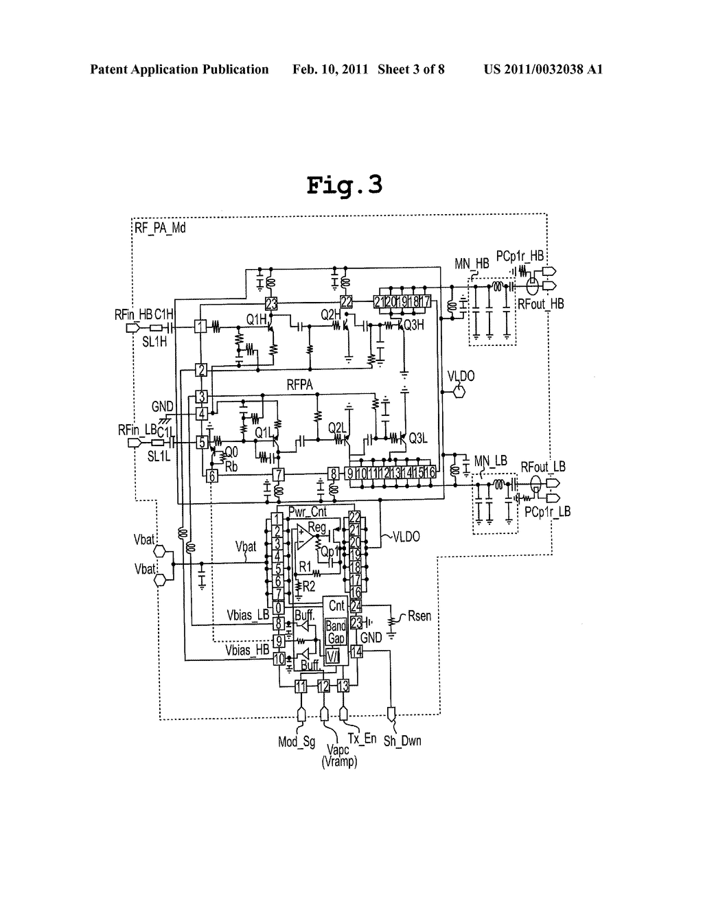Rf Power Amplifier Apparatus And Supply Circuit For Amp Controlling Voltage To Diagram Schematic Image 04