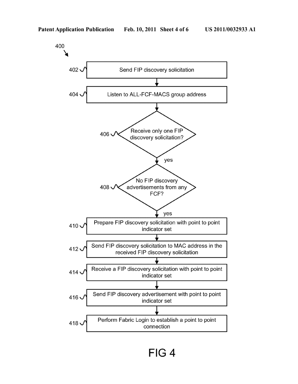 Apparatus, System, and Method for Establishing Point to Point Connections in FCOE - diagram, schematic, and image 05