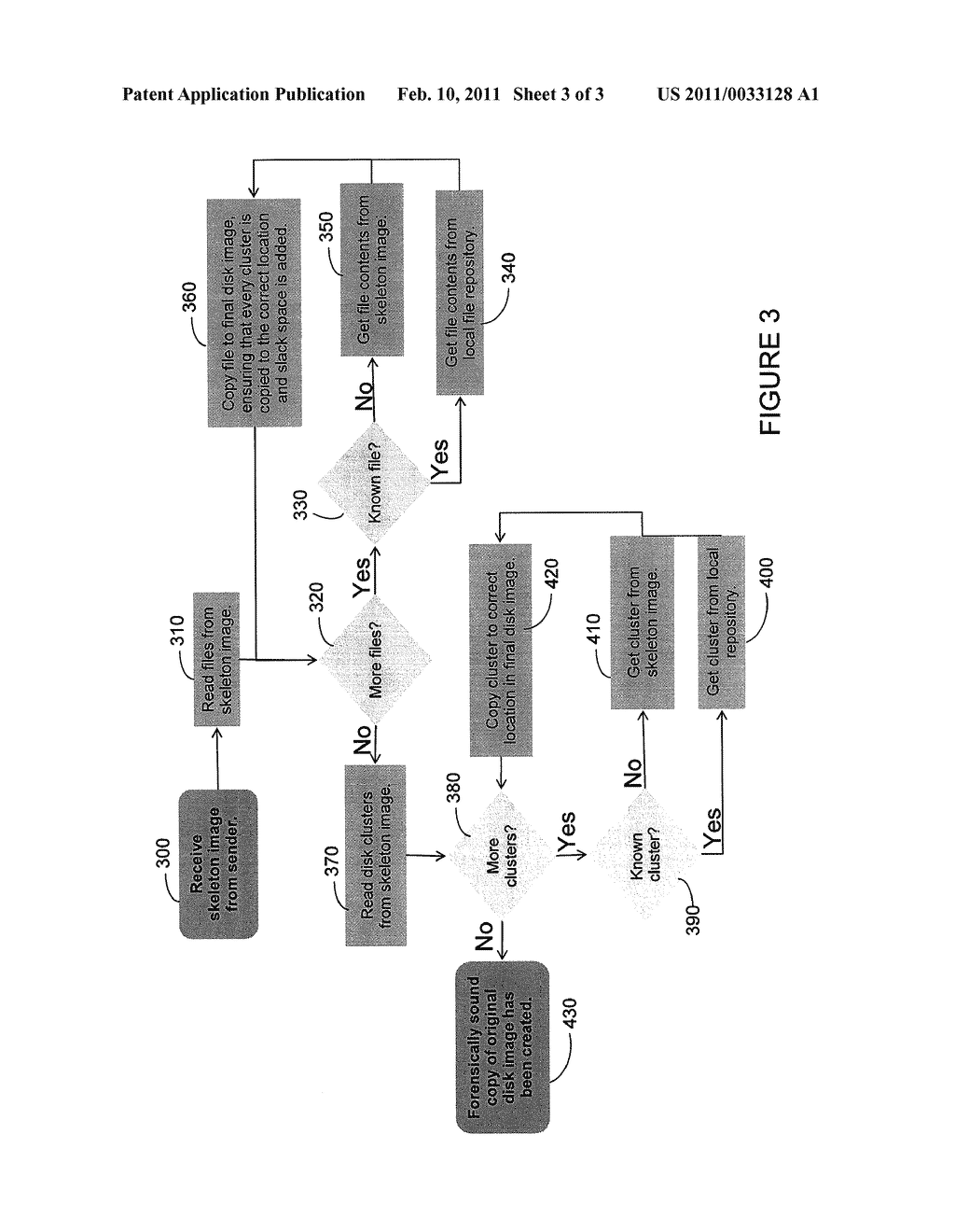 METHOD AND APPARATUS FOR TRANSFERRING AND RECONSTRUCTING AN IMAGE OF A COMPUTER READABLE MEDIUM - diagram, schematic, and image 04