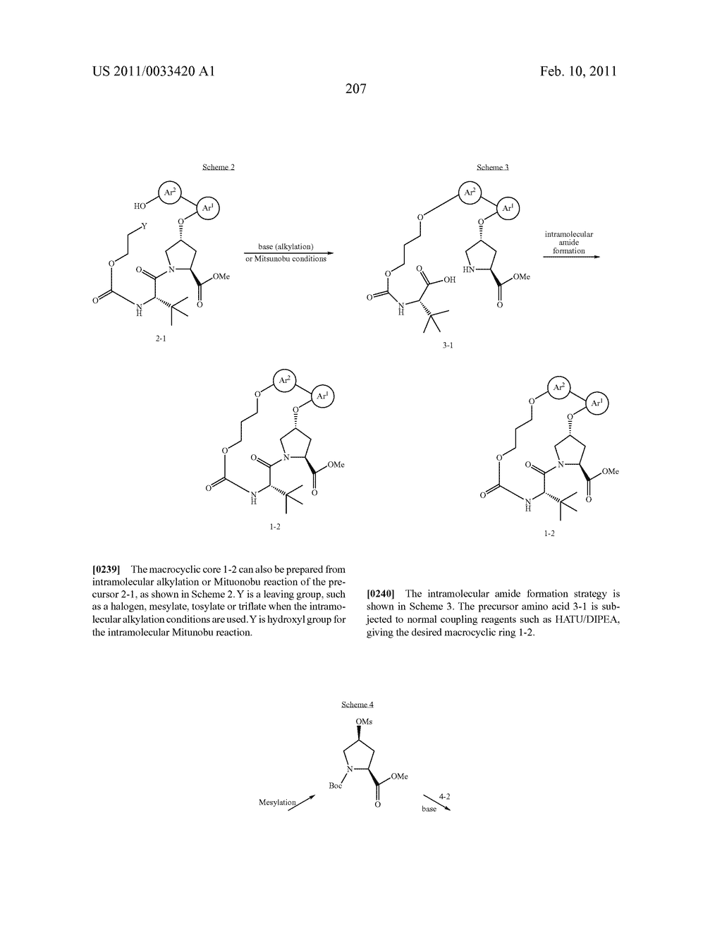 MACROCYCLIC COMPOUNDS AS HEPATITIS C VIRUS INHIBITORS - diagram, schematic, and image 208
