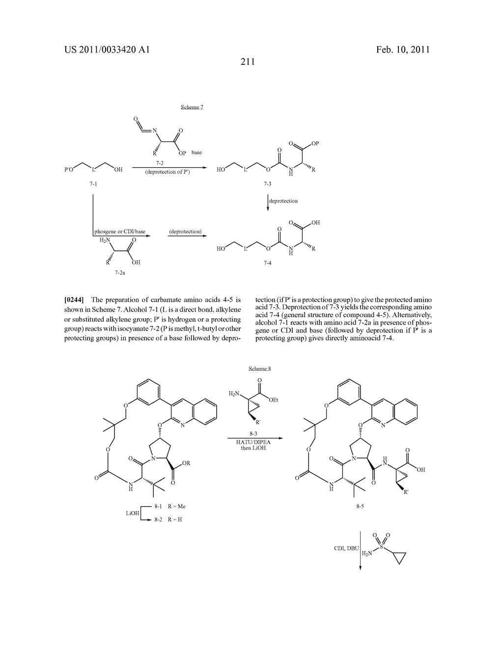 MACROCYCLIC COMPOUNDS AS HEPATITIS C VIRUS INHIBITORS - diagram, schematic, and image 212