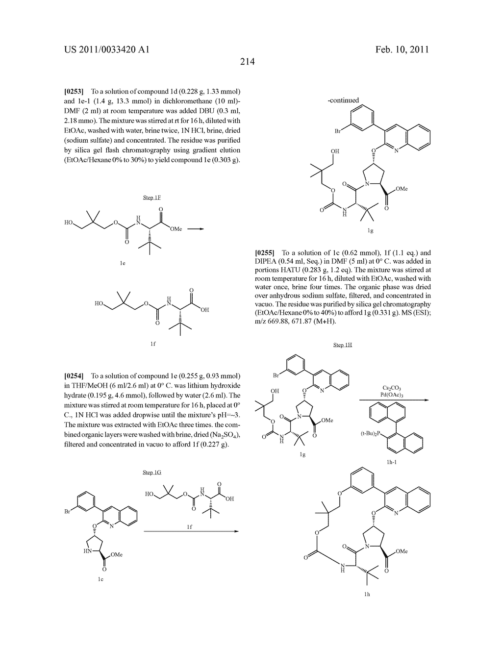 MACROCYCLIC COMPOUNDS AS HEPATITIS C VIRUS INHIBITORS - diagram, schematic, and image 215