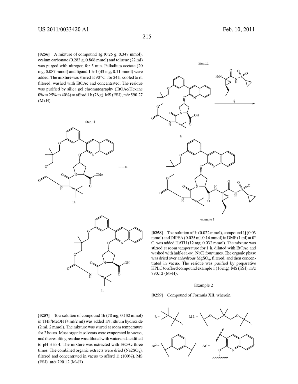 MACROCYCLIC COMPOUNDS AS HEPATITIS C VIRUS INHIBITORS - diagram, schematic, and image 216