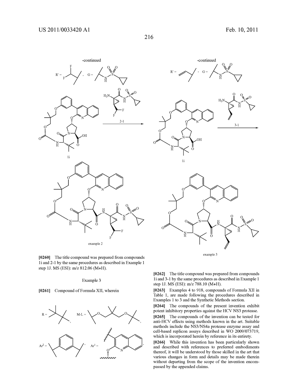 MACROCYCLIC COMPOUNDS AS HEPATITIS C VIRUS INHIBITORS - diagram, schematic, and image 217