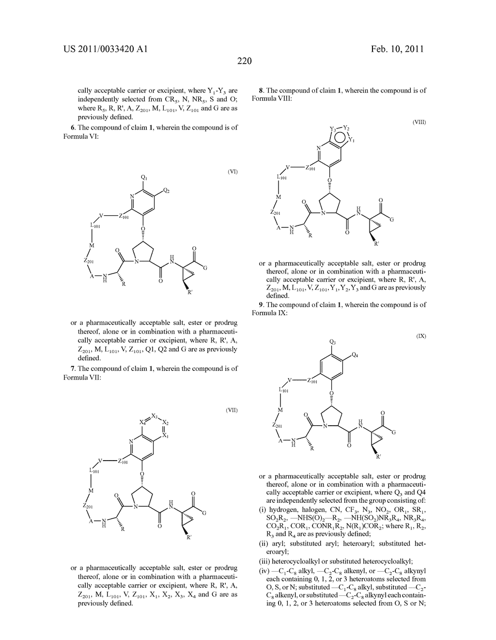MACROCYCLIC COMPOUNDS AS HEPATITIS C VIRUS INHIBITORS - diagram, schematic, and image 221