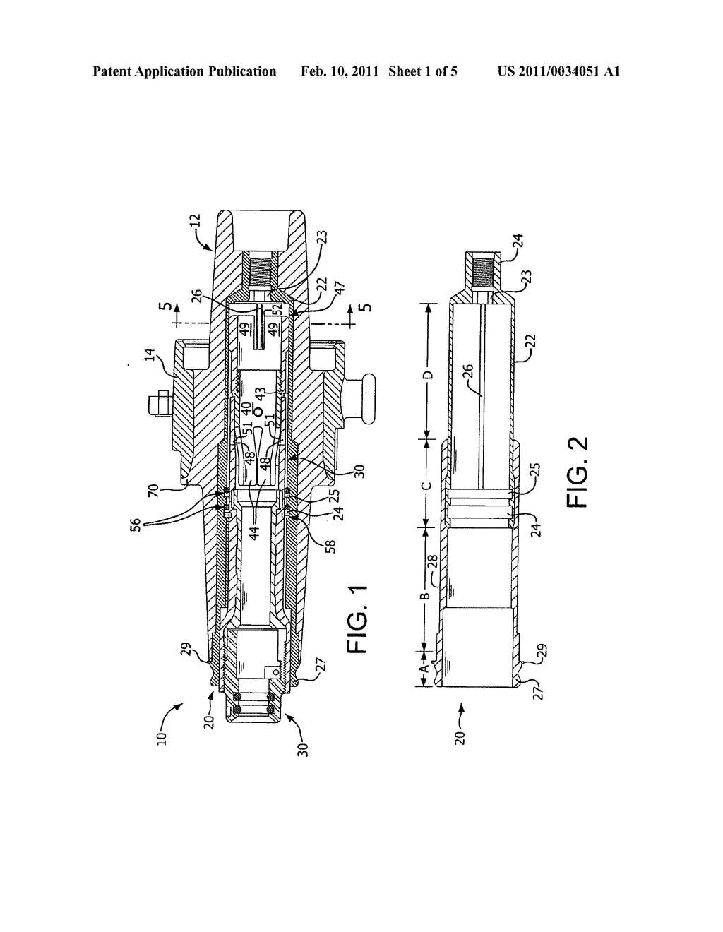 ELECTRICAL CONNECTOR WITH ARC SHIELD, PISTON-CONTACT POSITIONER AND ELECTRIC STRESS GRADED INTERFACE - diagram, schematic, and image 02