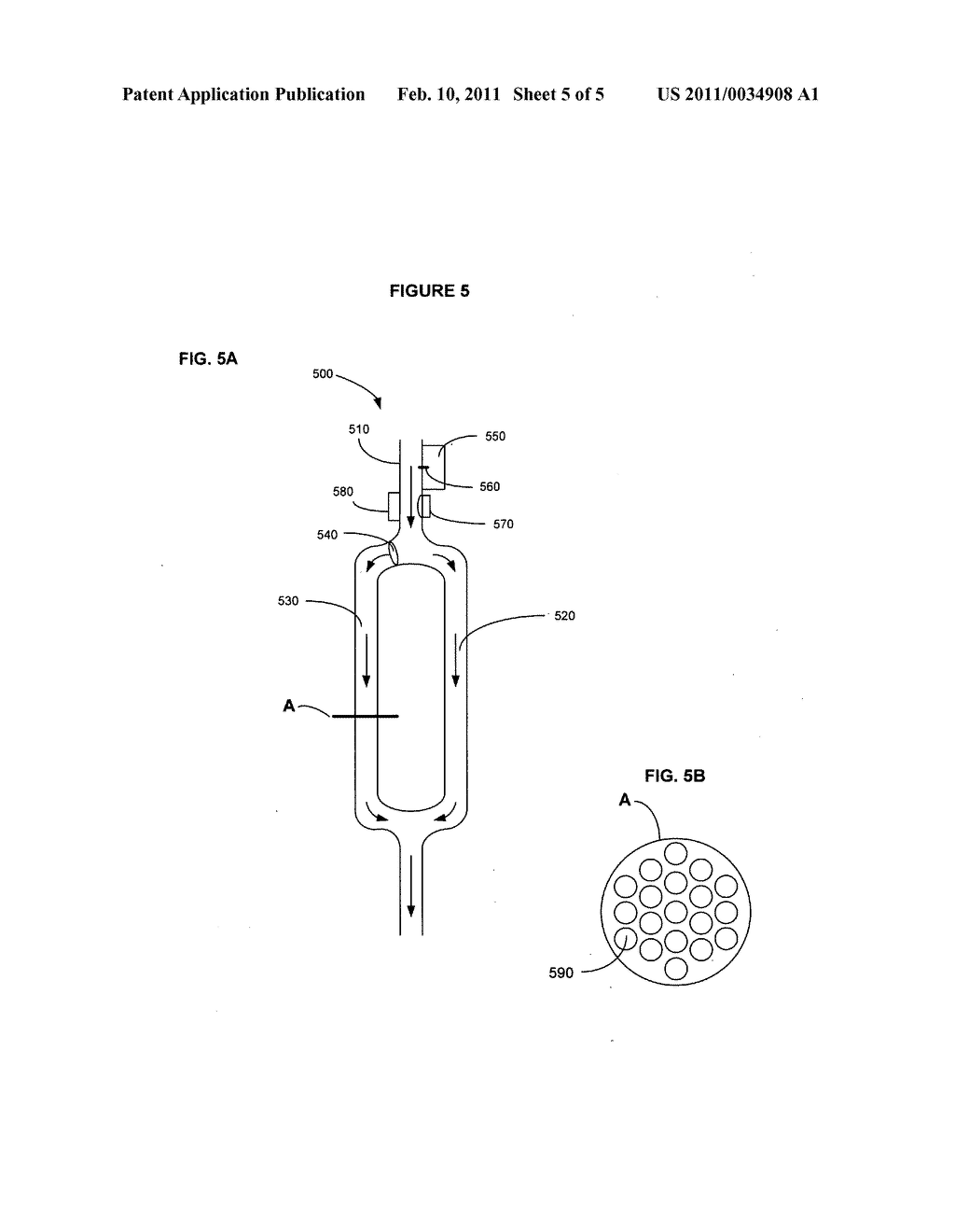 Device for actively removing a target component from blood or lymph of a vertebrate subject - diagram, schematic, and image 06