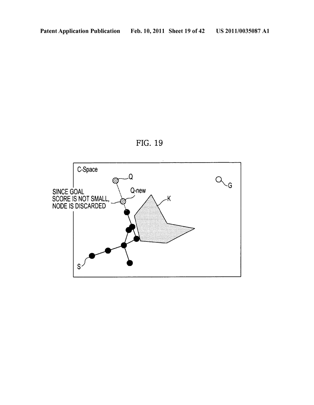 Method and apparatus to plan motion path of robot - diagram, schematic, and image 20