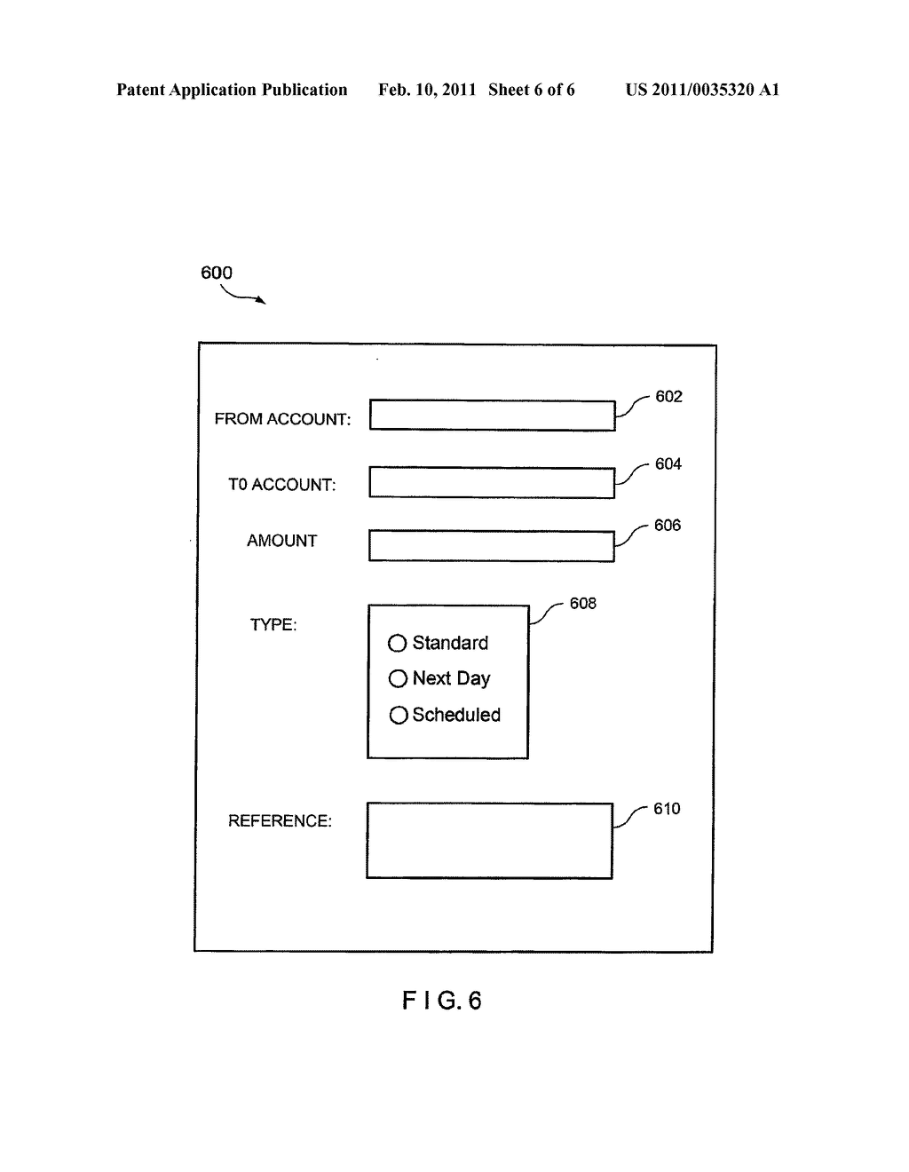 System And Method For Validating A Relationship Between A User And A User Account At A Financial Institution - diagram, schematic, and image 07