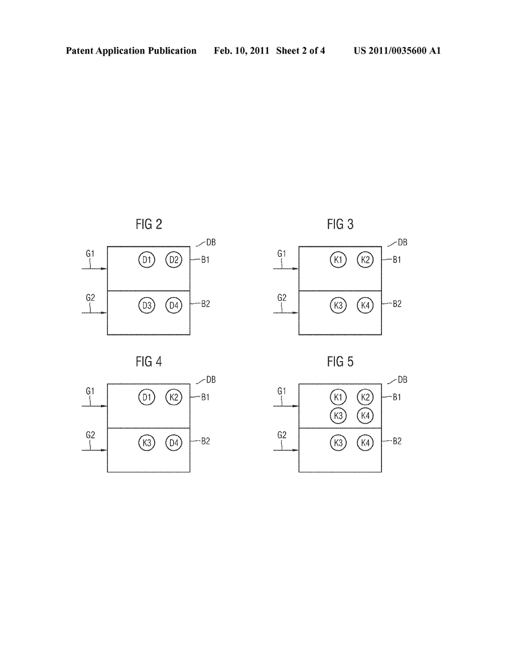 METHOD AND DEVICE FOR TRANSCODING DURING AN ENCRYPTION-BASED ACCESS CHECK ON A DATABASE - diagram, schematic, and image 03