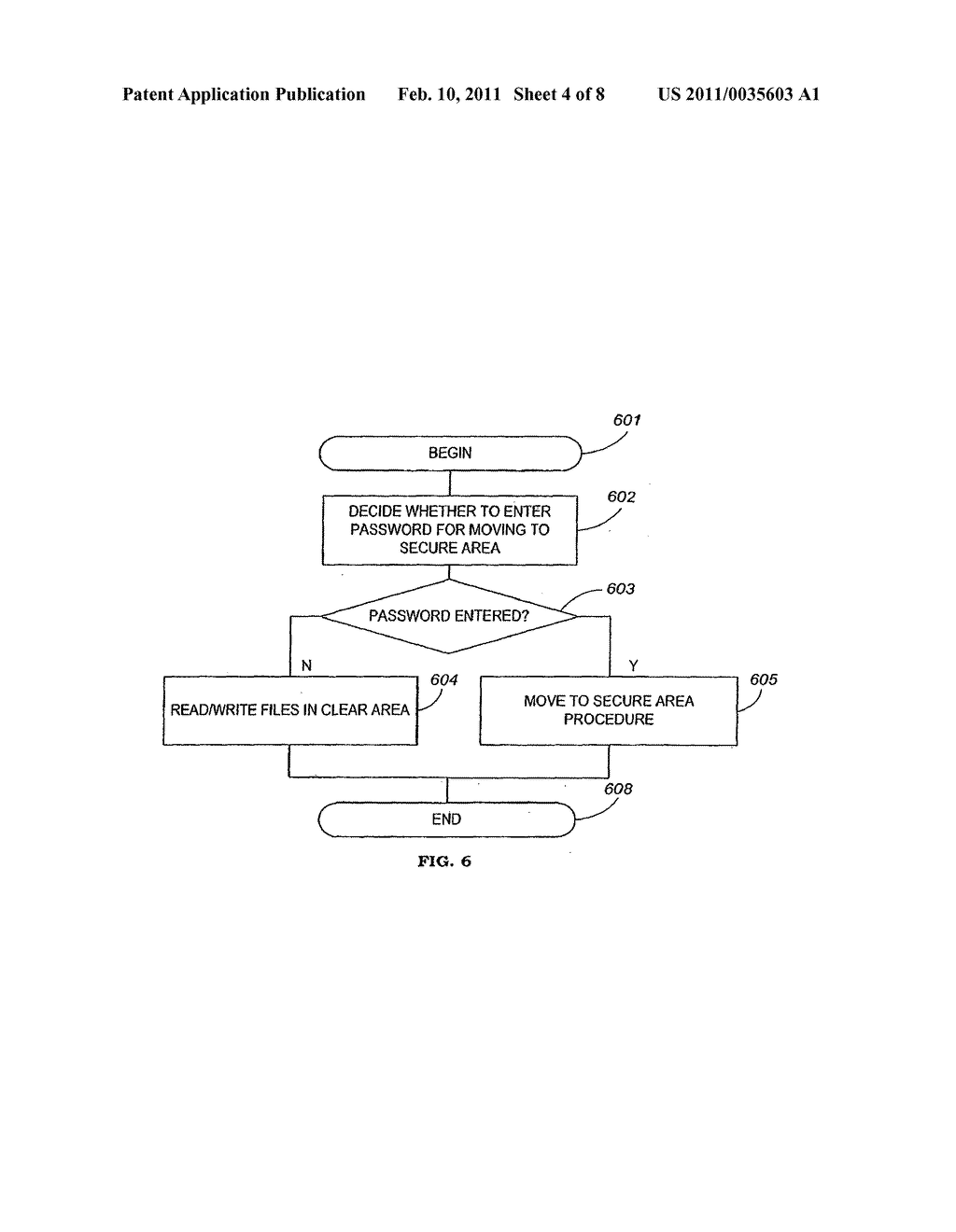 Apparatus and Method for Securing Data on a Portable Storage Device - diagram, schematic, and image 05