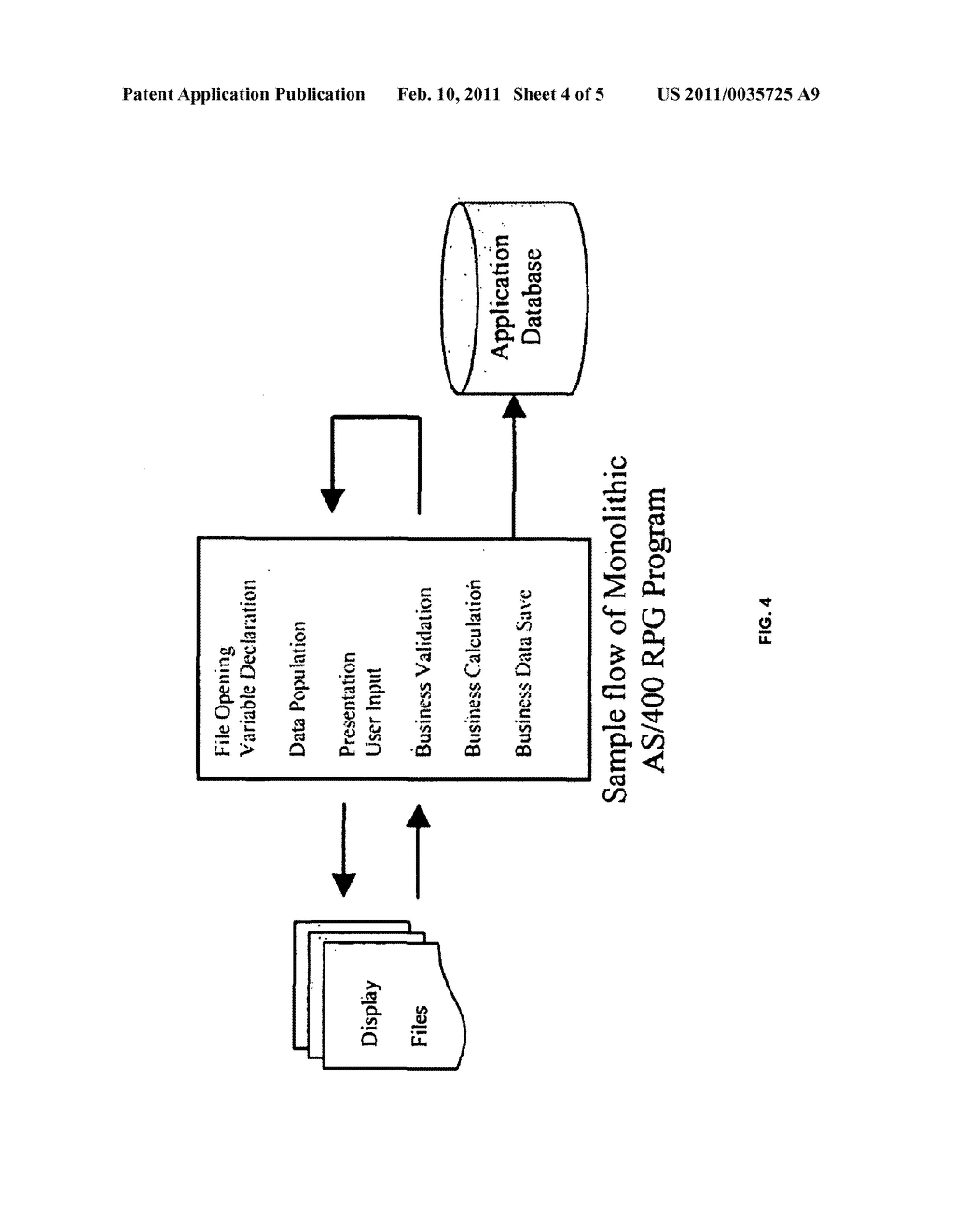 SYSTEM AND METHOD FOR AUTOMATED RE-ARCHITECTUREING OF LEGACY SYSTEMS USING OBJECT ORIENTED LANGUAGE - diagram, schematic, and image 05