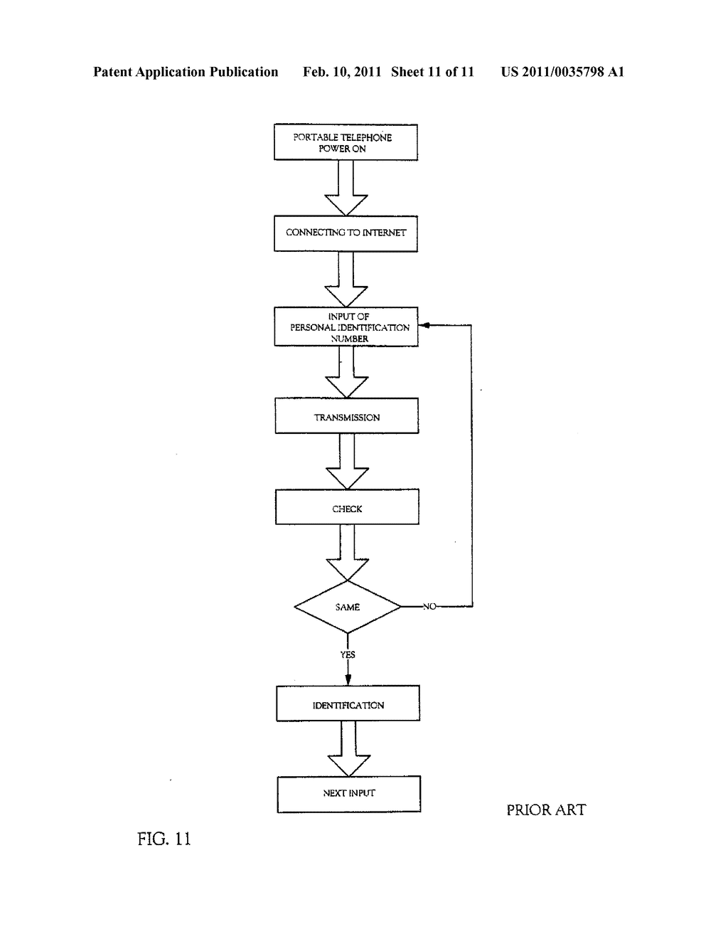SYSTEM FOR IDENTIFYING AN INDIVIDUAL, A METHOD FOR IDENTIFYING AN INDIVIDUAL OR A BUSINESS METHOD - diagram, schematic, and image 12