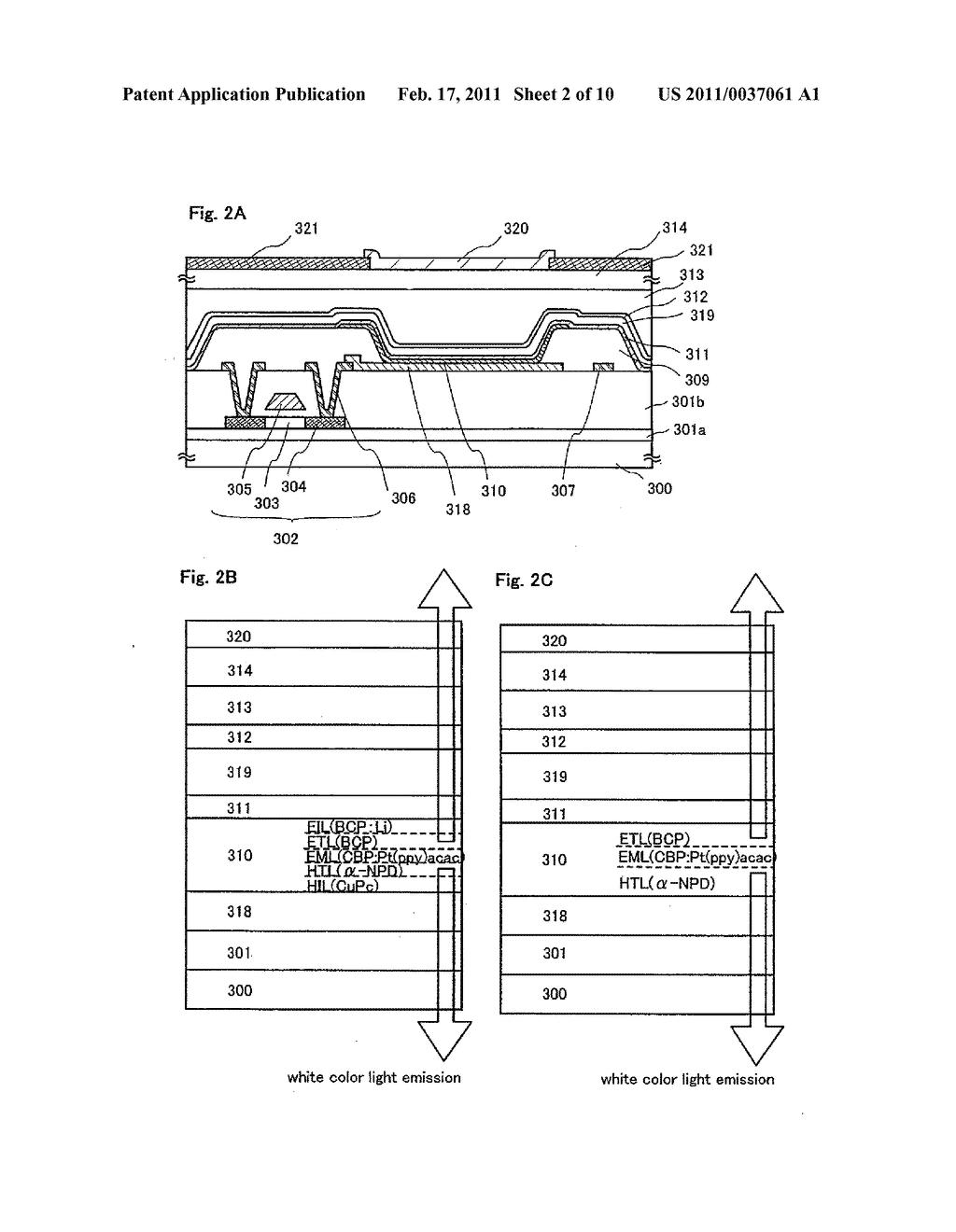 Light Emitting Device, Electronic Equipment and Apparatus For Manufacturing the Same - diagram, schematic, and image 03