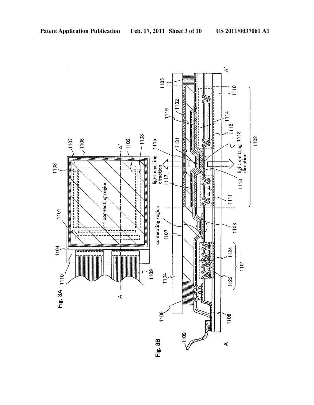 Light Emitting Device, Electronic Equipment and Apparatus For Manufacturing the Same - diagram, schematic, and image 04