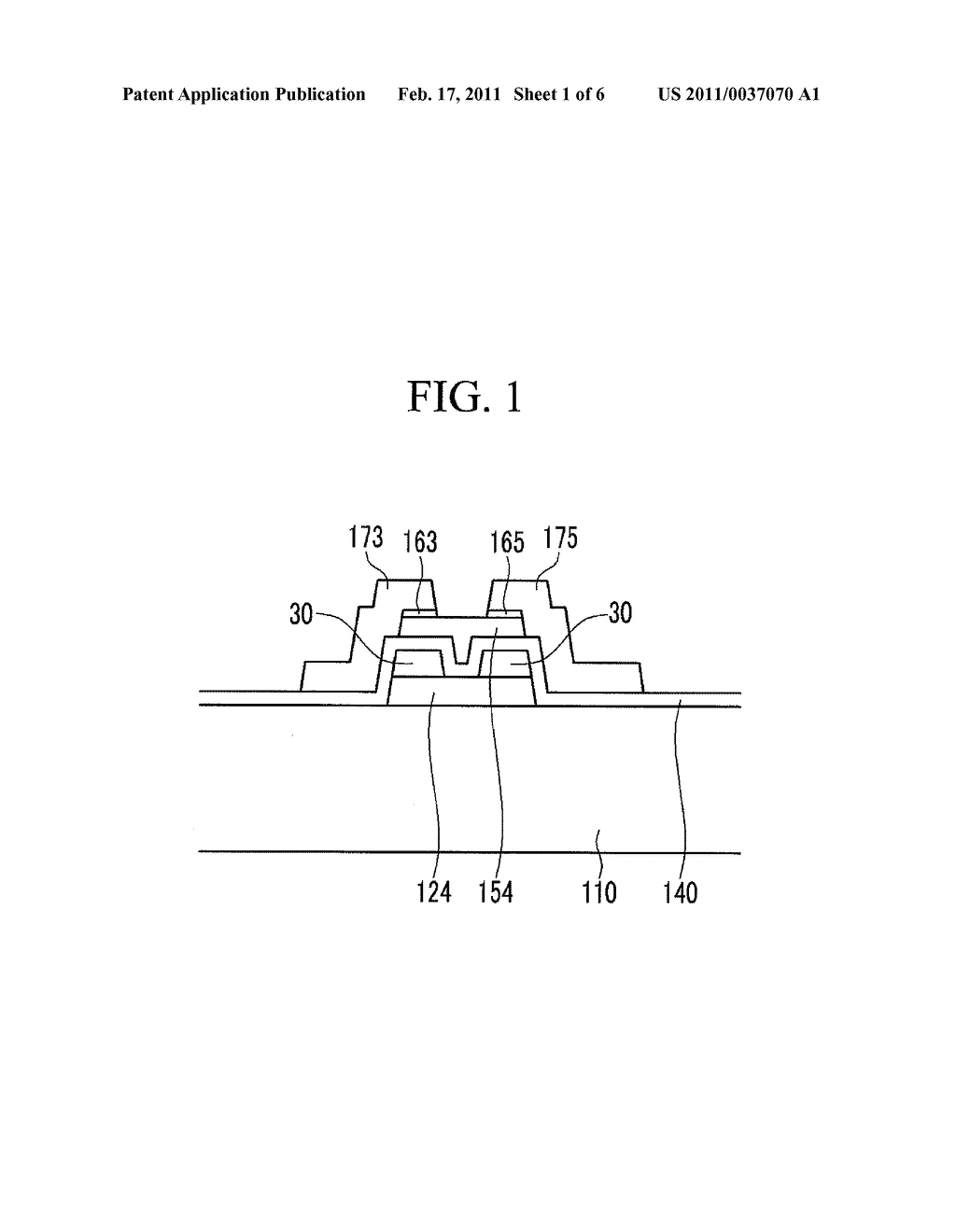 THIN FILM TRANSISTOR ARRAY PANEL AND METHOD FOR MANUFACTURING THE SAME - diagram, schematic, and image 02