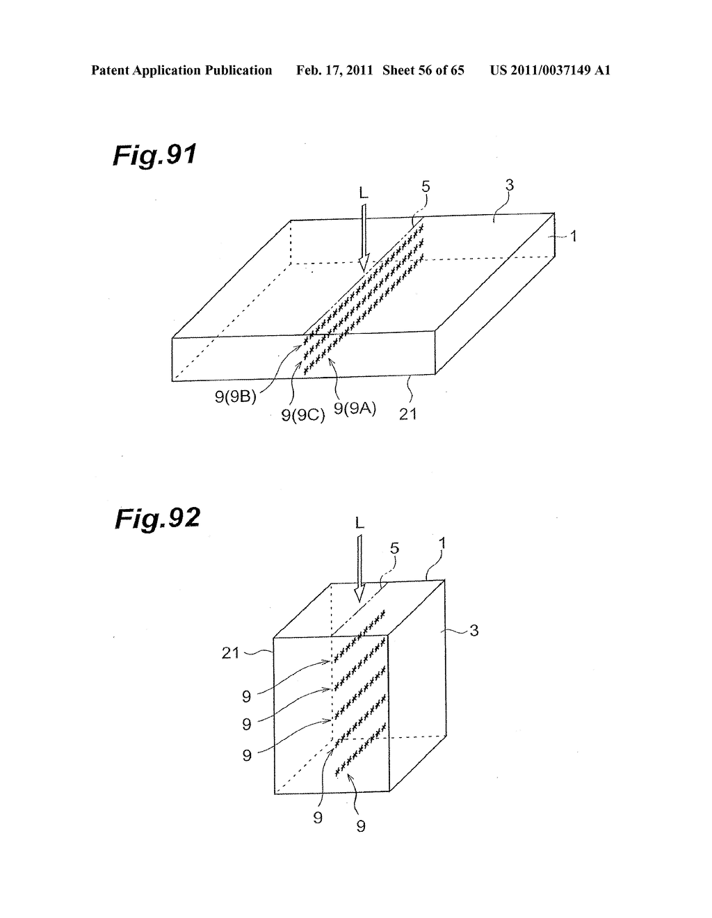 METHOD OF CUTTING A WAFER-LIKE OBJECT AND SEMICONDUCTOR CHIP - diagram, schematic, and image 57