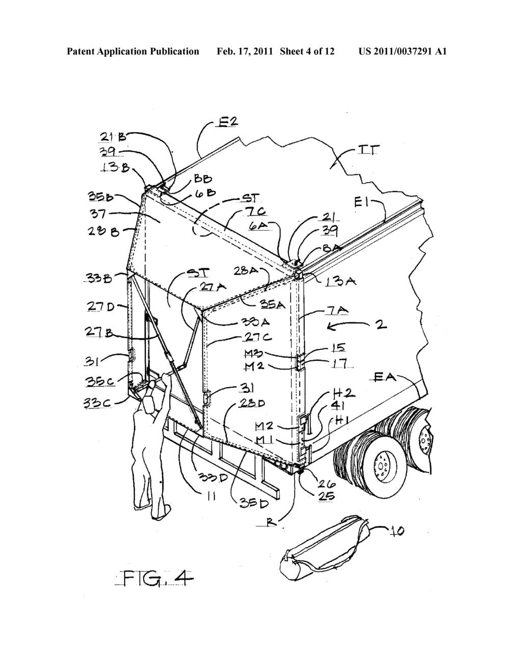DEVICE FOR IMPROVING A TRACTOR-TRAILER COMBINATION TRUCK ...