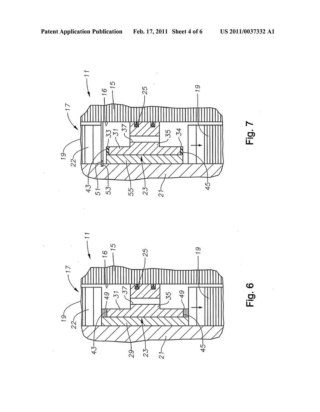 Non-Sliding Carrier Bearing in Submersible Pump Motor and Method of Installation - diagram, schematic, and image 05