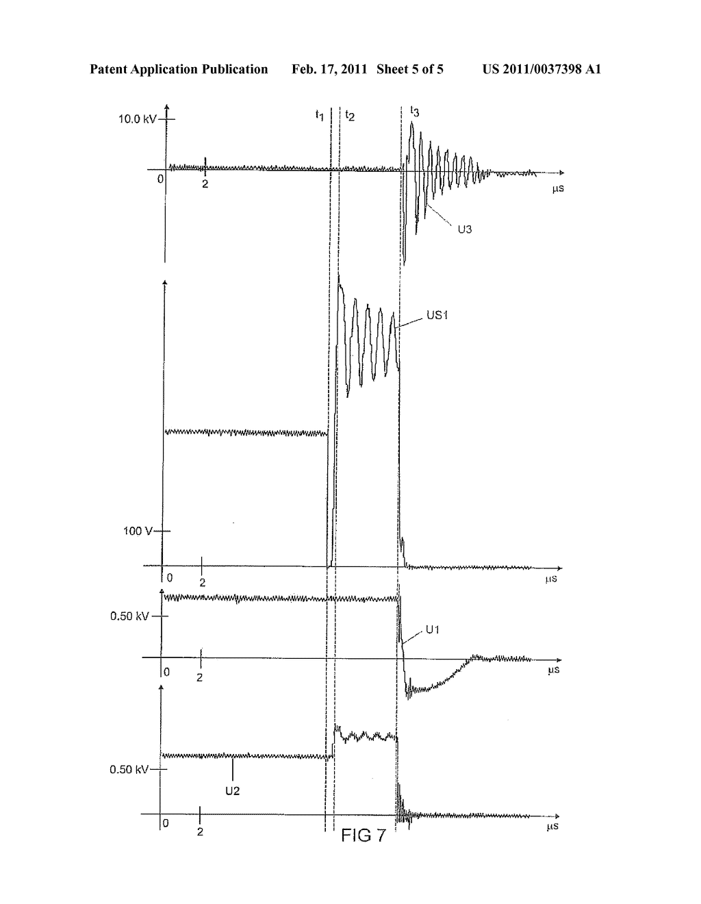 Circuit Arrangement and Method for Starting a Discharge Lamp - diagram, schematic, and image 06