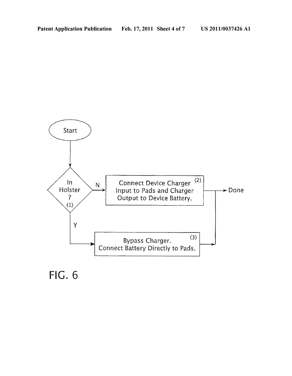 APPARATUS AND METHOD FOR THE POWER MANAGEMENT OF OPERATIVELY CONNECTED BATTERIES RESPECTIVELY ON A HANDHELD ELECTRONIC DEVICE AND A HOLDER FOR THE HANDHELD ELECTRONIC DEVICE - diagram, schematic, and image 05