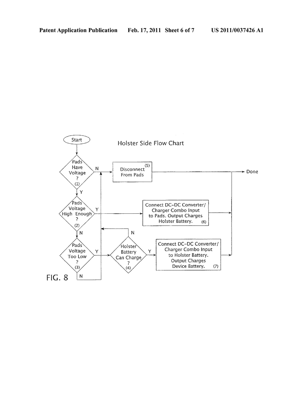 APPARATUS AND METHOD FOR THE POWER MANAGEMENT OF OPERATIVELY CONNECTED BATTERIES RESPECTIVELY ON A HANDHELD ELECTRONIC DEVICE AND A HOLDER FOR THE HANDHELD ELECTRONIC DEVICE - diagram, schematic, and image 07