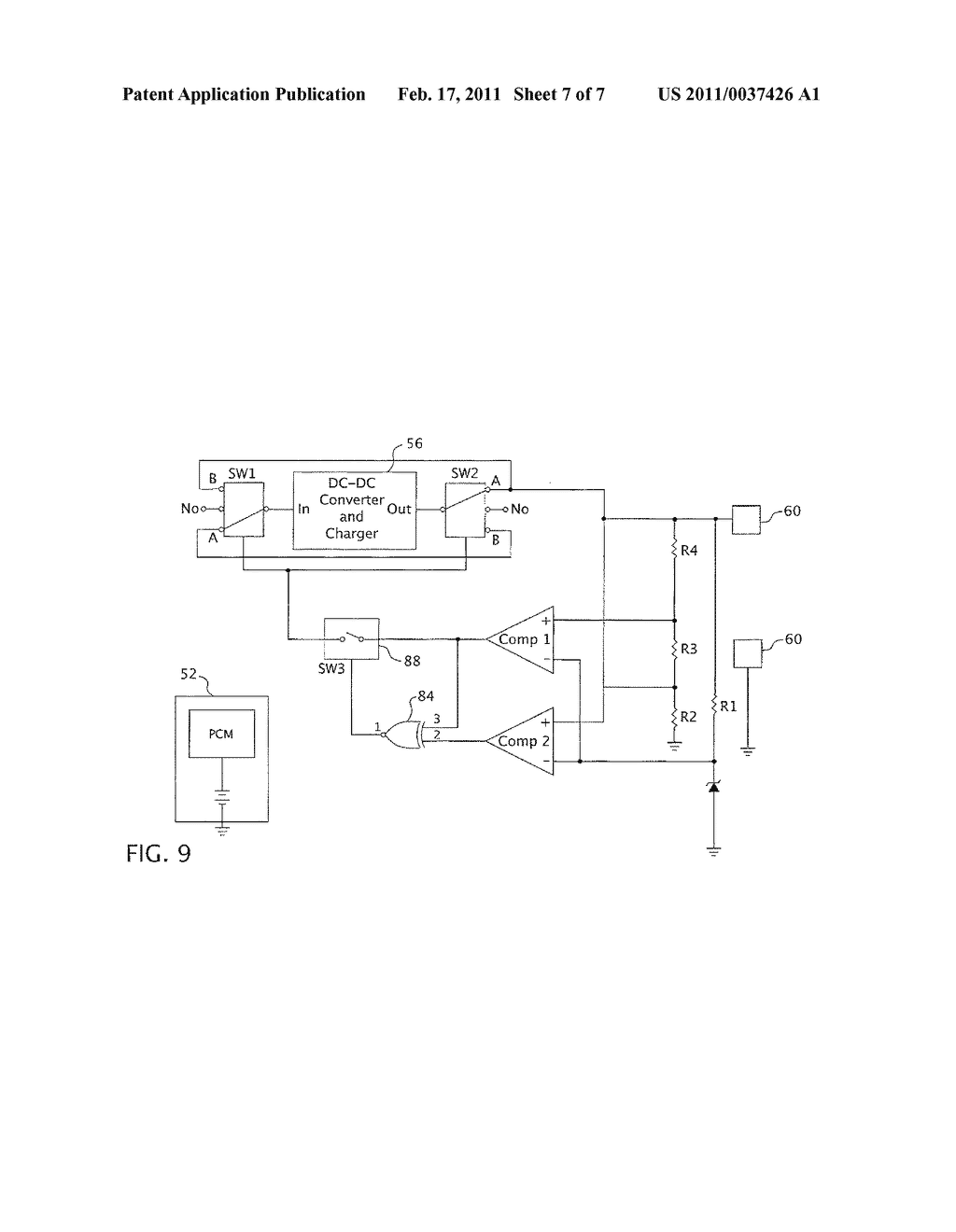 APPARATUS AND METHOD FOR THE POWER MANAGEMENT OF OPERATIVELY CONNECTED BATTERIES RESPECTIVELY ON A HANDHELD ELECTRONIC DEVICE AND A HOLDER FOR THE HANDHELD ELECTRONIC DEVICE - diagram, schematic, and image 08