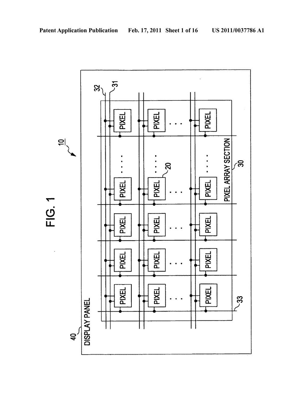 Display device, method for correcting luminance degradation, and electronic apparatus - diagram, schematic, and image 02