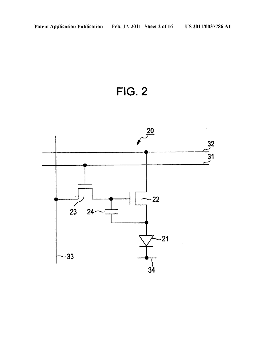Display device, method for correcting luminance degradation, and electronic apparatus - diagram, schematic, and image 03