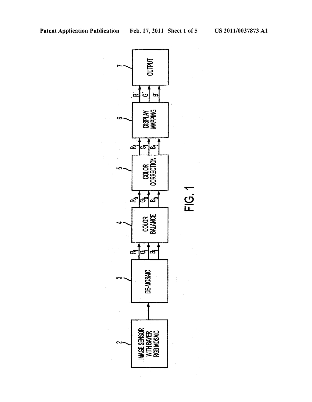 METHOD AND APPARATUS PROVIDING AUTOMATIC COLOR BALANCING FOR DIGITAL IMAGING SYSTEMS - diagram, schematic, and image 02