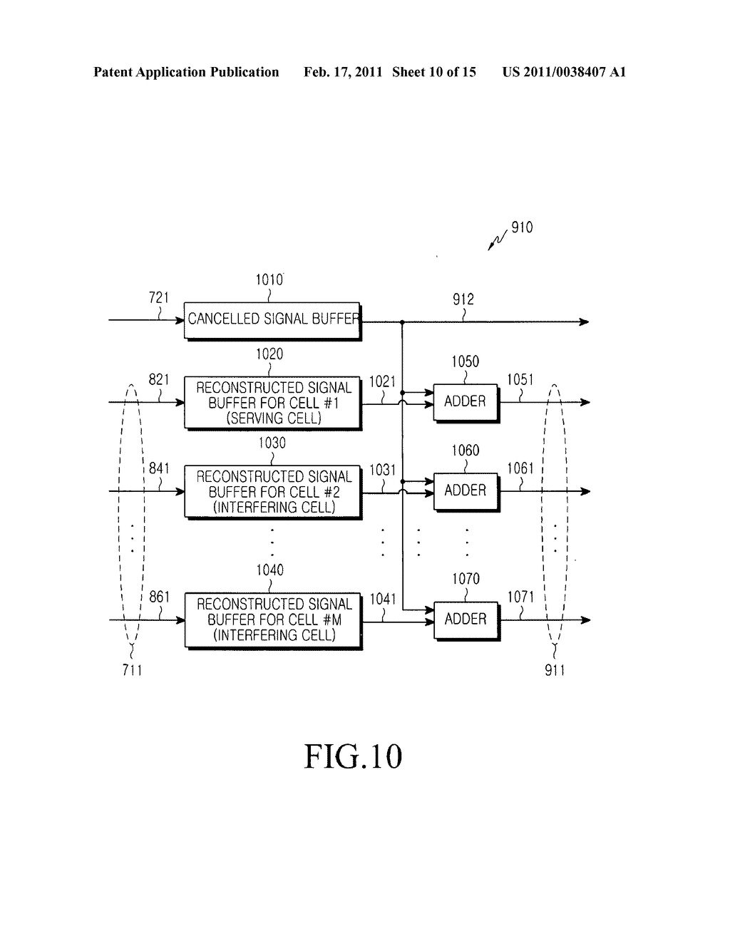 Equalizer receiver in a mobile communication system and method therefor - diagram, schematic, and image 11