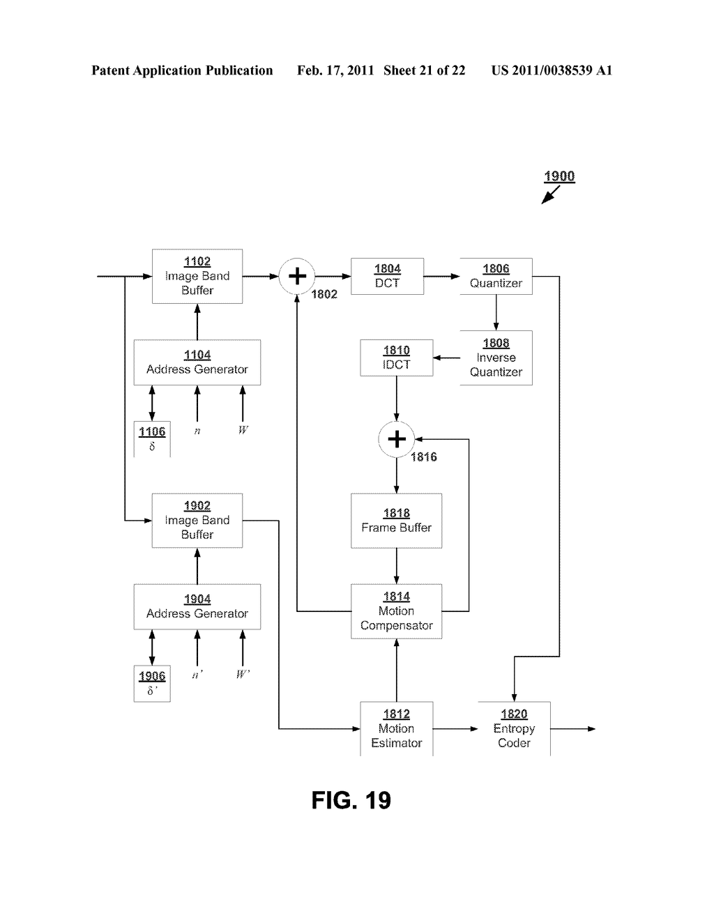 Systems and Methods for Raster-to-Block Converter - diagram, schematic, and image 22