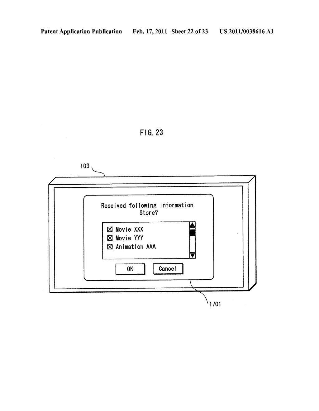 REPRODUCTION APPARATUS AND METHOD OF CONTROLLING A REPRODUCTION APPARATUS - diagram, schematic, and image 23