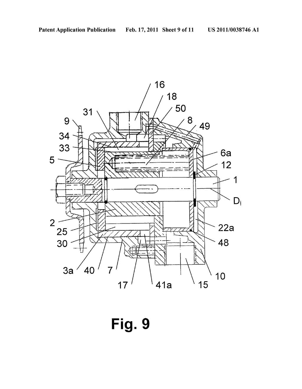 variable volume pump diagram