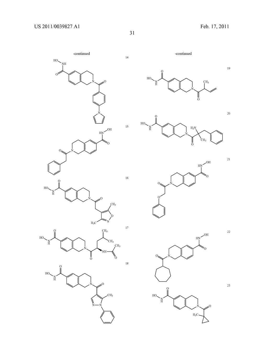Substituted hydroxamic acids and uses thereof - diagram, schematic, and image 32