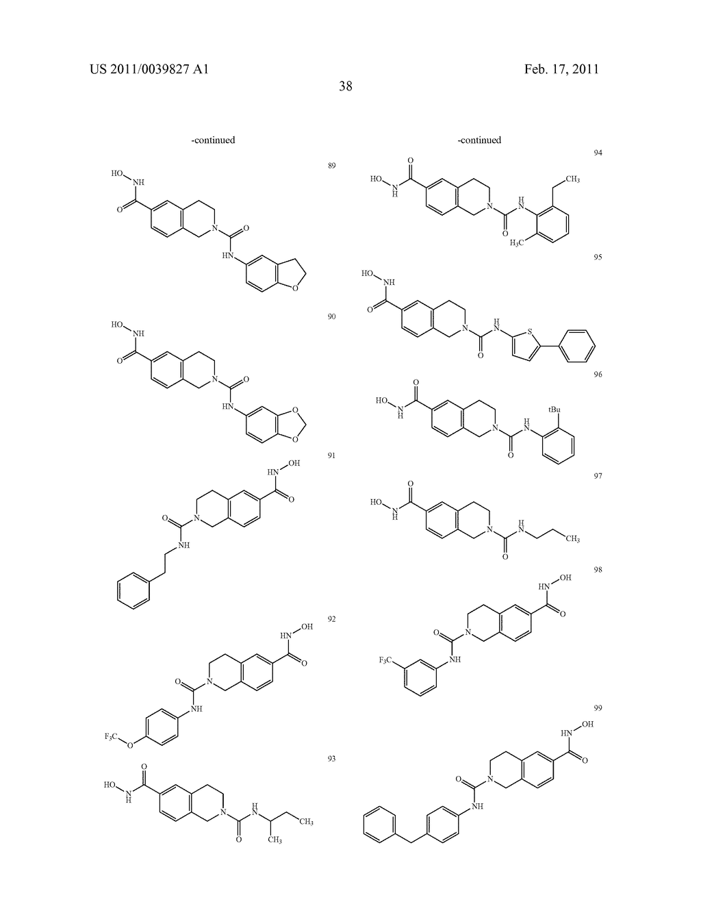 Substituted hydroxamic acids and uses thereof - diagram, schematic, and image 39
