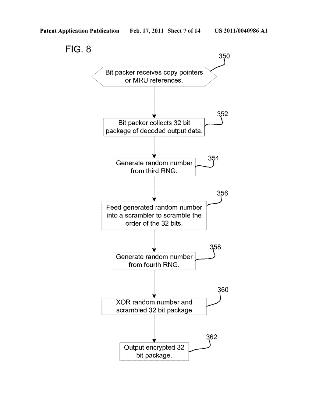 METHOD, SYSTEM, AND PROGRAM FOR SECURELY PROVIDING KEYS TO ENCODE AND DECODE DATA IN A STORAGE CARTRIDGE - diagram, schematic, and image 08