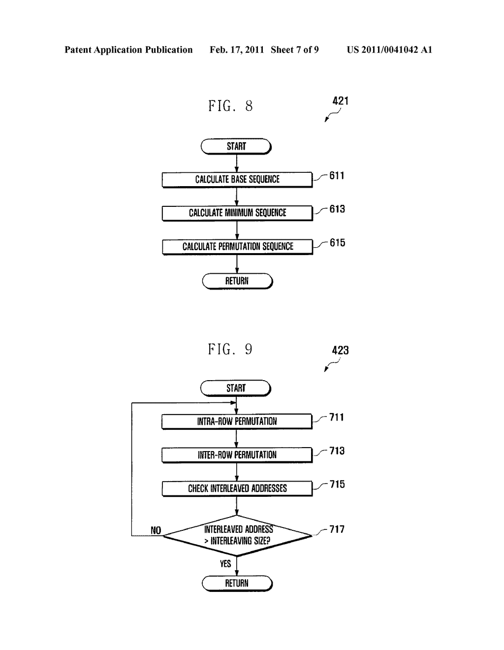 APPARATUS AND METHOD FOR DETERMINING INTERLEAVED ADDRESS OF TURBO INTERLEAVER - diagram, schematic, and image 08