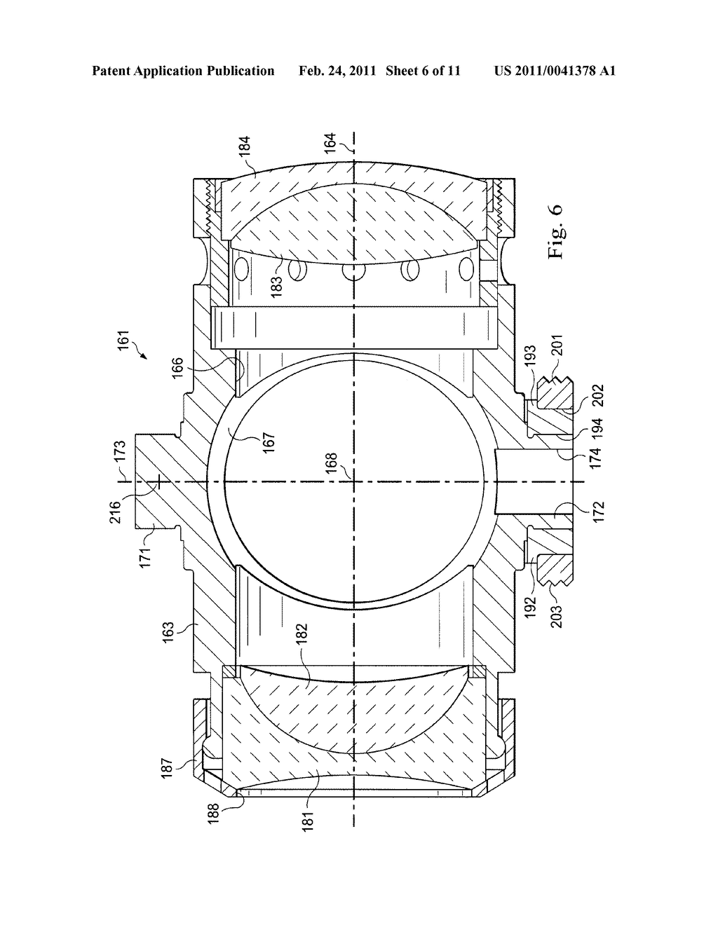 Method and Apparatus for Adjustably Supporting a Component in an Optical Sight - diagram, schematic, and image 07