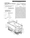 RAILROAD GONDOLA CAR STRUCTURE AND MECHANISM THEREFOR diagram and image