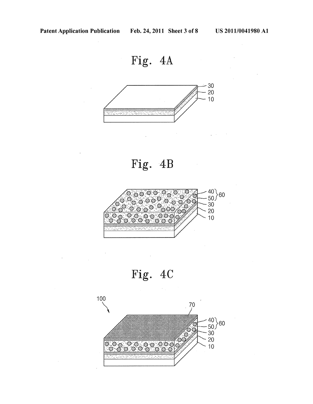 ELECTRONIC DEVICE UTILIZING GRAPHENE ELECTRODES AND OGRANIC/INORGANIC HYBRID COMPOSITES AND METHOD OF MANUFACTURING THE ELECTRONIC DEVICE - diagram, schematic, and image 04