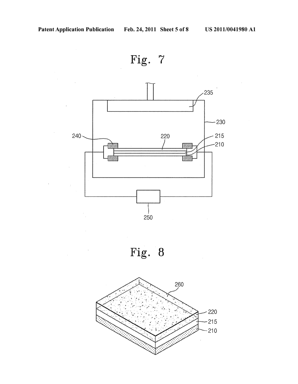 ELECTRONIC DEVICE UTILIZING GRAPHENE ELECTRODES AND OGRANIC/INORGANIC HYBRID COMPOSITES AND METHOD OF MANUFACTURING THE ELECTRONIC DEVICE - diagram, schematic, and image 06