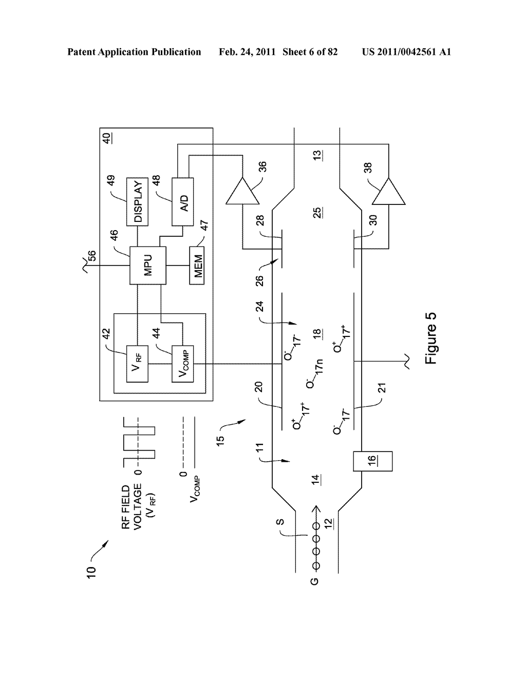 METHODS AND APPARATUS FOR ENHANCED ION BASED SAMPLE DETECTION USING SELECTIVE PRE-SEPARATION AND AMPLIFICATON - diagram, schematic, and image 07