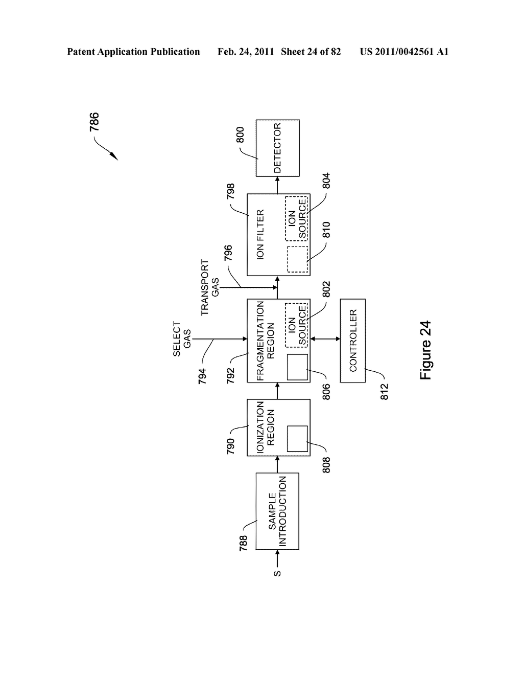 METHODS AND APPARATUS FOR ENHANCED ION BASED SAMPLE DETECTION USING SELECTIVE PRE-SEPARATION AND AMPLIFICATON - diagram, schematic, and image 25